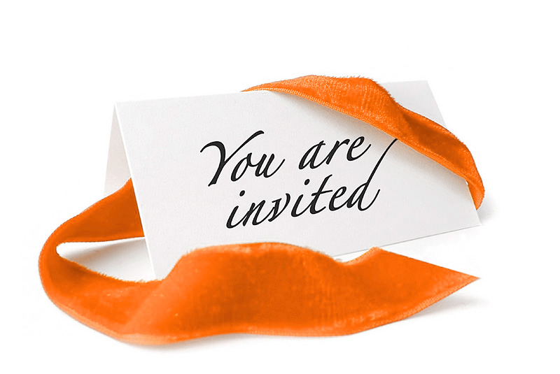 Invite your guests